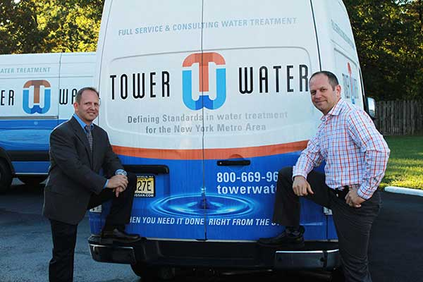Russ and Noah of Tower Water