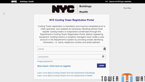 how to upload documents to the NYC cooling tower registration portal video thumbnail