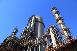 manufacturing plants and water treatment