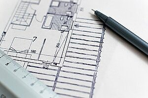 a blueprint for construction piping installation