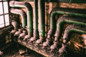 specialty pipe cleaning of HVAC equipment