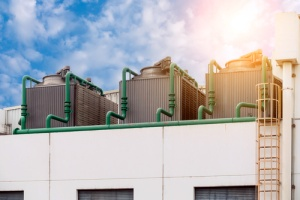 Early Spring, Late, Summer and Early Fall are the ideal times to clean and maintain cooling towers