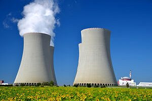 Industrial cooling towers. Cooling tower maintenance is typically mandatory