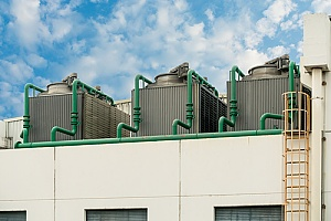 NYC cooling towers that have been properly cleaned and maintained