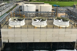 cooling tower water treatmentof co generation power plant