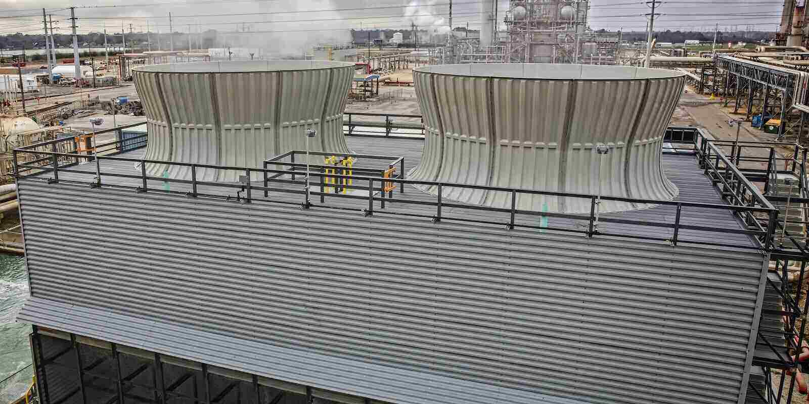 chemical plant cooling tower