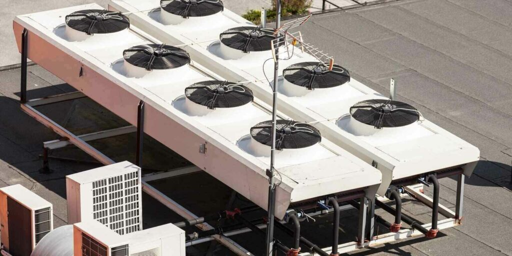 cooling tower for a large office building