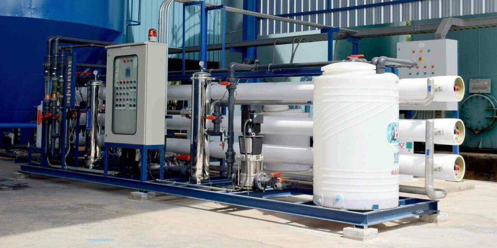 reverse osmosis system for water drinking plant