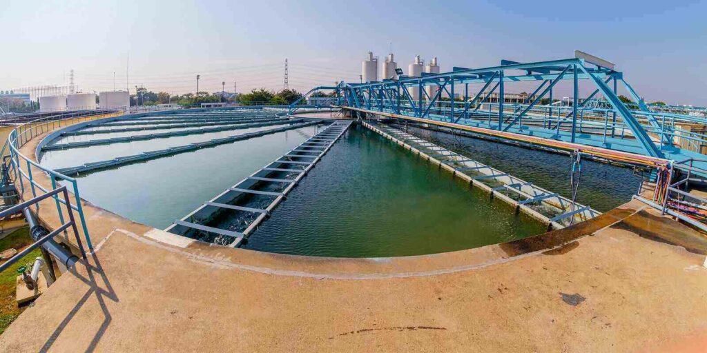 sludge recirculation clarifier solid contact sedimentation tank